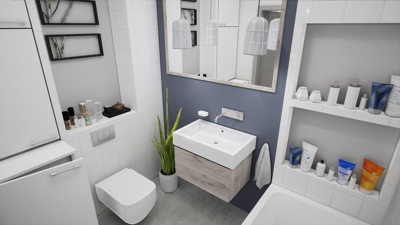 Aranżacja Małej łazienki Pomysły